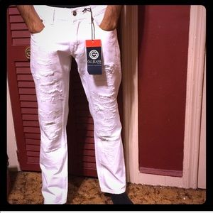 Other - White destroyed Jeans